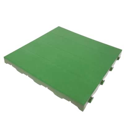 Piastrelle ad incastro ONEK Chiusa 40 x 40 cm Sp 33 mm,  verde