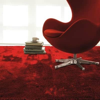 Tappeto Shaggy coccole , rosso, 150x220 cm