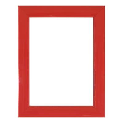 Cornice INSPIRE Bomber rosso per foto da 10x15 cm