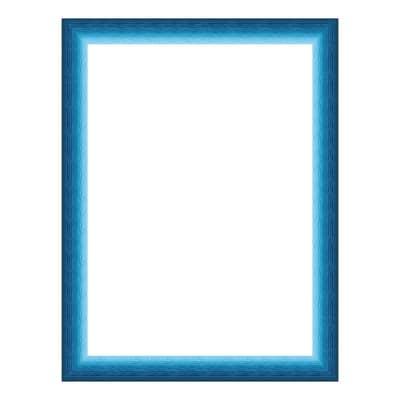 Cornice INSPIRE Bicolor azzurro per foto da 20x30 cm