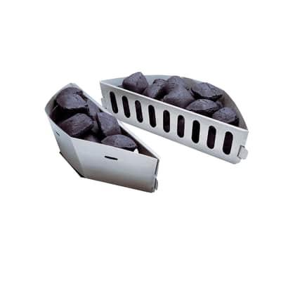 Cesta WEBER separa carbone per barbecue (2 pezzi)