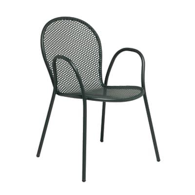 Sedia Pavesino colore grigio antracite