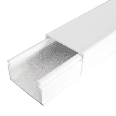 Canalina   4 X 200 X 2.5 cm bianco