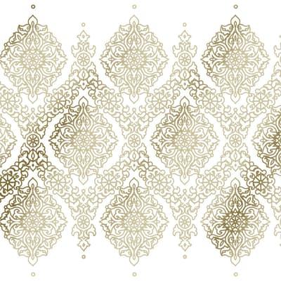 Tenda doccia Sintra in vinile beige L 180 x H 200 cm