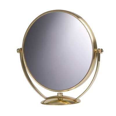 Specchio ingranditore tondo Appoggio L 23 x H 23 cm Ø 20 cm