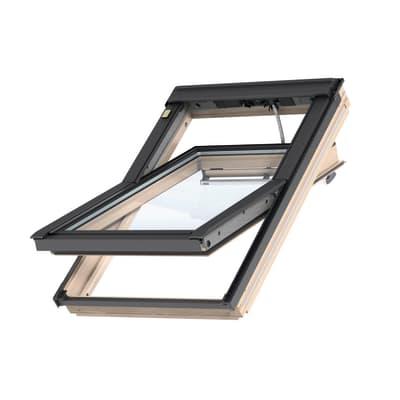 Finestra da tetto (faccia inclinata) VELUX GGL CK04 308621 elettrico L 55 x H 98 cm pino