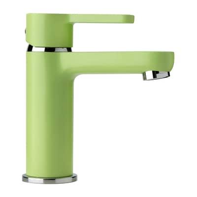 Rubinetto per lavabo Colors verde opaco