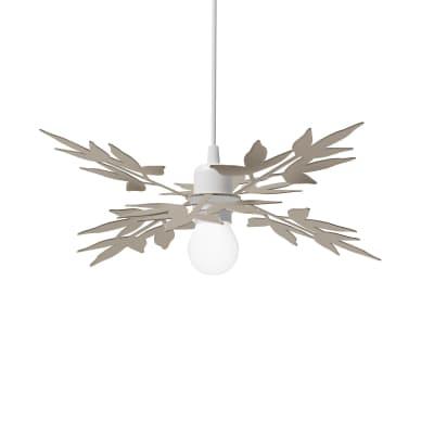 Lampadario Design Birdie sabbia in vetro