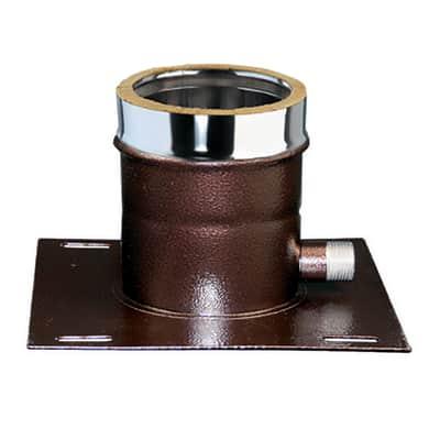 Raccordo per canna fumaria COPIASTRC08 in inox 316l (elevata resistenza in condizioni climatiche estreme) Ø 80 mm