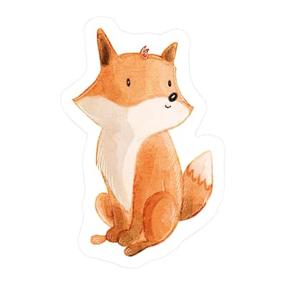 Cuscino INSPIRE Fox multicolor