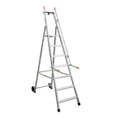 Scala doppia FACAL Mayorà in alluminio 7 gradini per lavori fino a 3.39 m