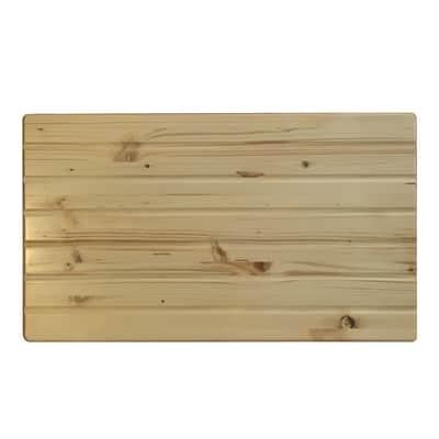 Asse per lavaggio Tablette Edge legno 52.2 x 1.8 x 49 cm beige