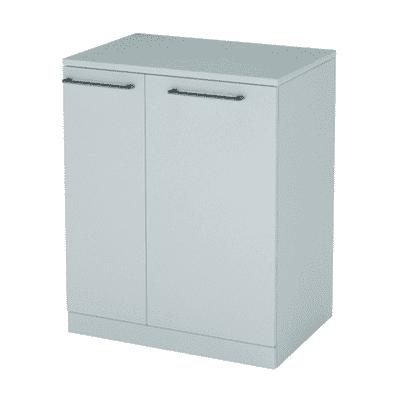 Mobile lavanderia Per lavatrice bianco rivestito L 75 x P 72 x H 93 cm