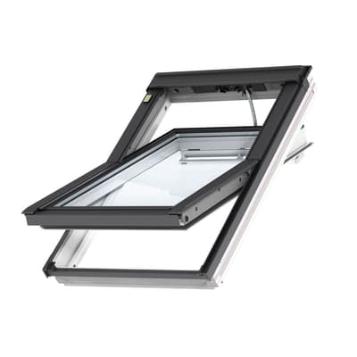 Finestra da tetto (faccia inclinata) VELUX GGL BK04 208621 elettrico L 47 x H 98 cm bianco
