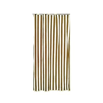 Tenda da sole ad anelli 200 x 300 cm marrone