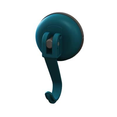 Gruccia Easy blu aspetto gomma in plastica