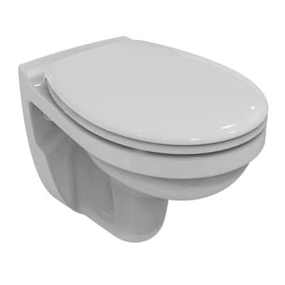 Vaso Ceramica Dolomite Miky.Vaso Wc Sospeso Miky New Ideal Standard Prezzo Online Leroy Merlin