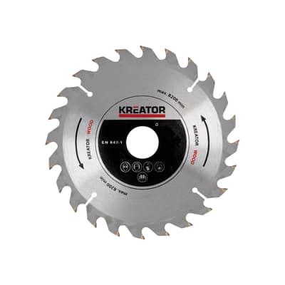 Lama per sega circolare KREATOR metallo Ø 190 mm 48 denti