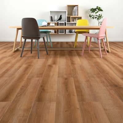 Pavimento laminato Loolo Sp 12 mm marrone