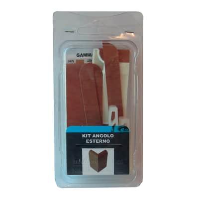 Angolare esterno in kit ciliegio 5 x 11 cm Sp 20 mm