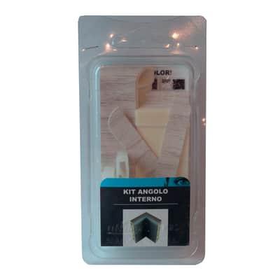 Angolare interno in kit kit angolo interno battiscopa 7011 rovere bianco 5 x Sp 20 mm