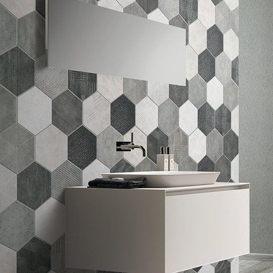 Arredo bagno e sanitari idee offerte e prezzi per l 39 arredo bagno on line - Profili per piastrelle leroy merlin ...
