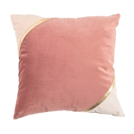 Cuscino Idora rosa 40 x 40 cm