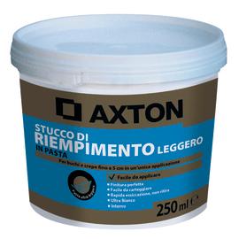 Stucco in pasta alleggerita Axton liscio bianco 250 g