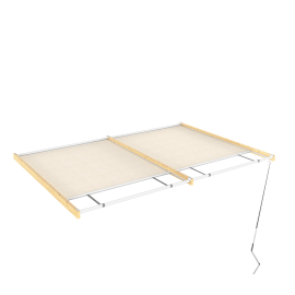 Tenda superiore scorrevole pergola Flamingo / Eagle 5.94x3m