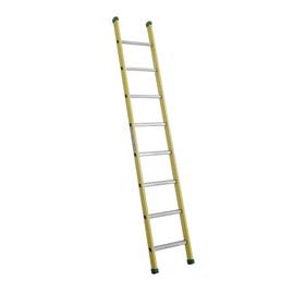 Scala ad appoggio alluminio Facal 8 gradini, per lavori fino a 3,5 m