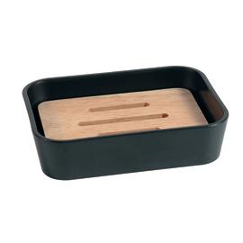 accessori bagno da appoggio dispenser sapone porta sapone e scopino. Black Bedroom Furniture Sets. Home Design Ideas