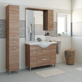 Mobili bagno prezzi e offerte mobiletti bagno sospesi o a for Bagno 90 rimini