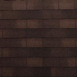 Tegole canadesi rettangolari Bardoline Pro marrone in bitume 100 x 34  cm, spessore 3,4 mm