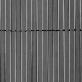 Cannicciato doppio sintetico Colorado grigio L 5 x H 1 m