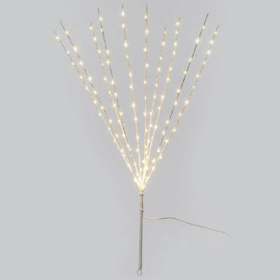 Ramo micro branch luminoso 120 minilucciole Led bianca fredda H 75 cm
