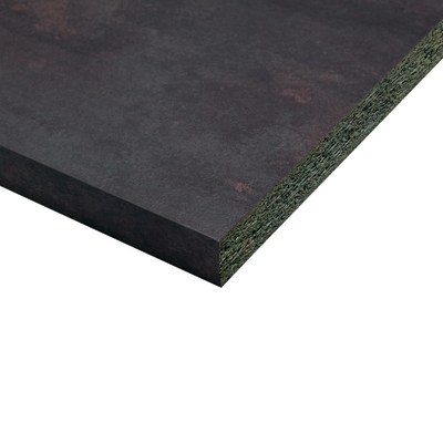 Piano cucina laminato Cuivre marrone 3.8 x 60 x 304 cm