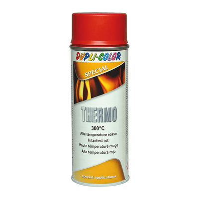 Smalto spray Thermo alte temperature rosso opaco 400 ml