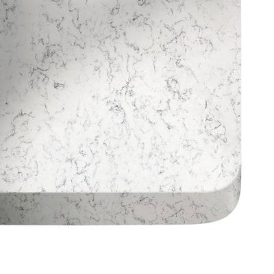Piano cucina su misura quarzo Lyra 3 cm