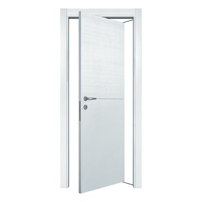 Porta da interno rototraslante Hollow bianco matrix 70 x H 210 cm dx