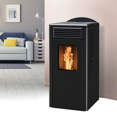 Stufa a Pellet Fusion 8.2 8 kW nero