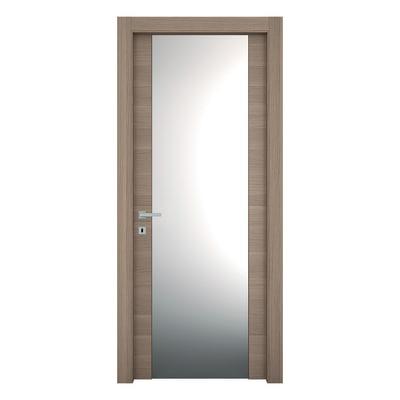 Porta da interno battente Sheraton rovere naturale 80 x H 210 cm dx