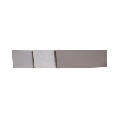 Alzatina su misura Copperfield laminato grigio H 10 cm
