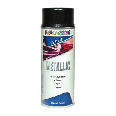 Smalto spray Metallic nero diamantato 400 ml