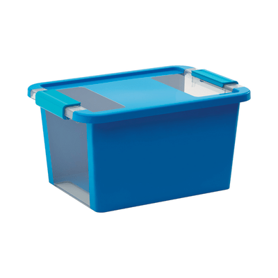 Scatola Bi Box S L 36,5 x P 26 x H 19 cm azzurro