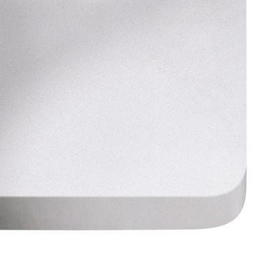 Piano cucina su misura quarzo White storm 2 cm