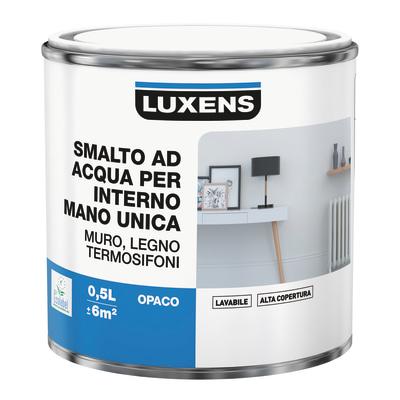 Smalto manounica Luxens all'acqua Rosa Pinup 6 opaco 0.5 L