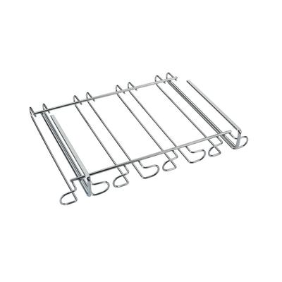 Porta bicchieri Gulliver cromo L 39 x P 29 x H 7 cm