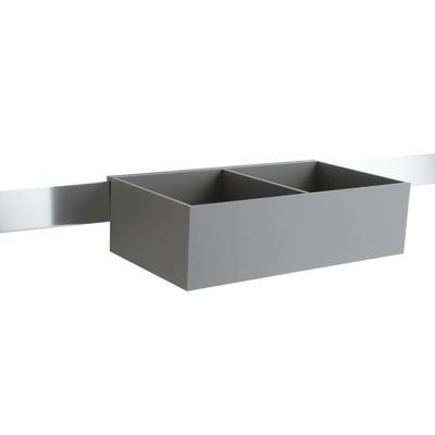 Porta oggetti Quadro grigio