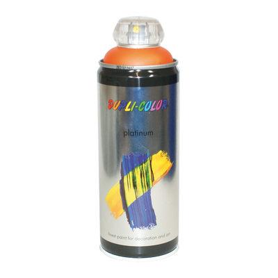 Smalto spray Platinum arancio traffico RAL 2009 satinato 400 ml