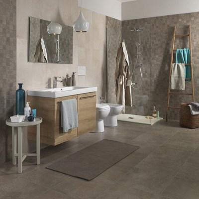 Piastrella vision 25 x 75 cm bianco prezzi e offerte - Rivestimenti bagno prezzi stock ...